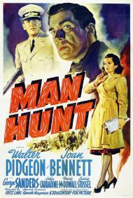 Man Hunt Movie Poster