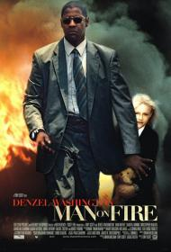 Man on Fire Movie Poster