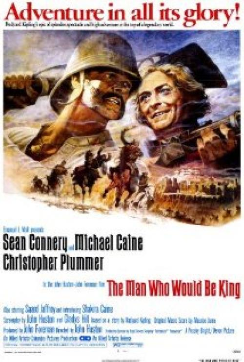 The Man Who Would Be King Movie Poster