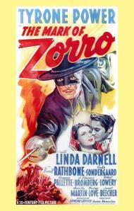 The Mark of Zorro Movie Poster
