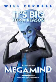 Megamind Movie Poster