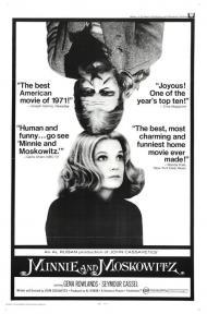 Minnie and Moskowitz Movie Poster