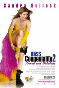 Miss Congeniality 2: Armed and Fabulous Movie Poster