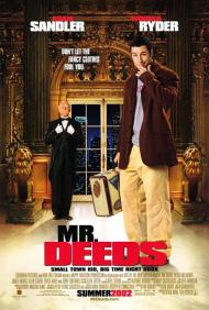 Mr. Deeds Movie Poster