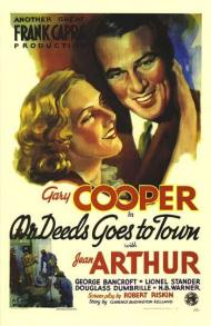 Mr. Deeds Goes to Town Movie Poster