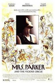 Mrs. Parker and the Vicious Circle Movie Poster