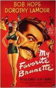 My Favorite Brunette Movie Poster