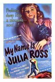 My Name Is Julia Ross Movie Poster