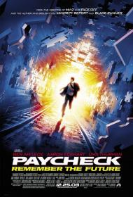 Paycheck Movie Poster
