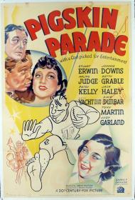 Pigskin Parade Movie Poster