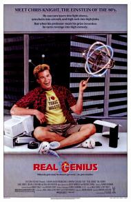 Real Genius Movie PosterYuji Okumoto Real Genius