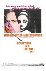 Reflections in a Golden Eye Movie Poster