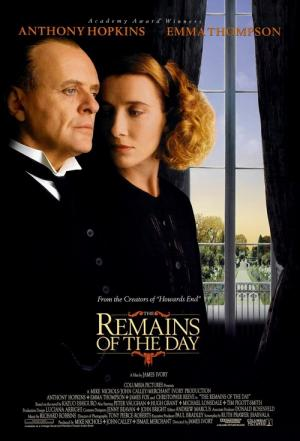 The Remains of the Day Movie Poster