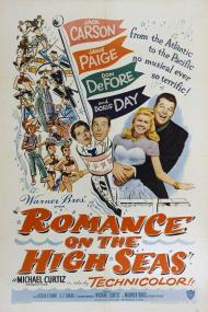 Romance on the High Seas Movie Poster