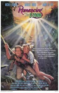Romancing the Stone Movie Poster
