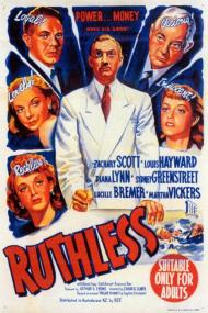 Ruthless Movie Poster