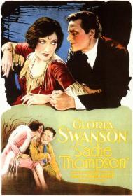 Sadie Thompson Movie Poster