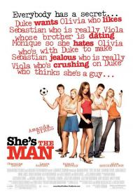 She's the Man Movie Poster