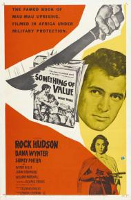 Something of Value Movie Poster