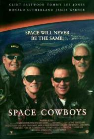 Space Cowboys Movie Poster