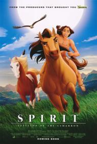 Spirit: Stallion of the Cimarron Movie Poster