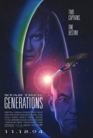 Star Trek VII: Generations Movie Poster