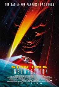 Star Trek IX: Insurrection Movie Poster