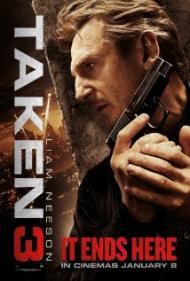 Taken 3 Movie Poster