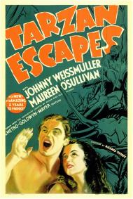Tarzan Escapes Movie Poster