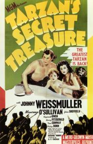 Tarzan's Secret Treasure Movie Poster