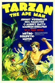 Tarzan the Ape Man Movie Poster