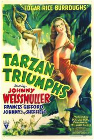 Tarzan Triumphs Movie Poster