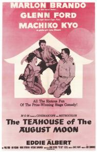 The Teahouse of the August Moon Movie Poster