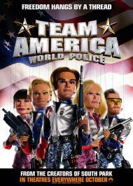 Team America: World Police Movie Poster