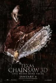 Texas Chainsaw 3-D Movie Poster