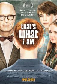That's What I Am Movie Poster