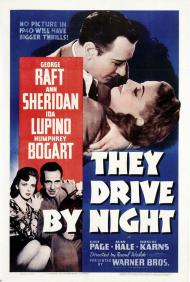 They Drive by Night Movie Poster