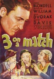 Three on a Match Movie Poster