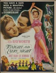 Tonight and Every Night Movie Poster