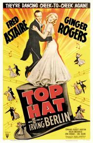 Top Hat Movie Poster