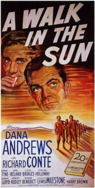 A Walk in the Sun Movie Poster