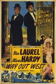 Way Out West Movie Poster
