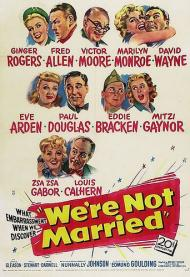We're Not Married!  Movie Poster