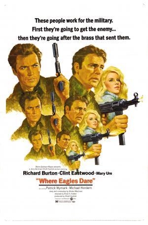 Where Eagles Dare Movie Poster