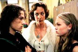 Heath Ledger, Allison Janney and Julia Stiles in 10 Things I Hate About You.
