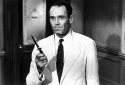 Henry Fonda in 12 Angry Men.