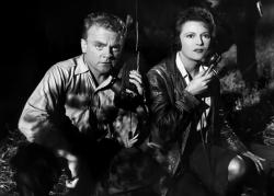 James Cagney and Annabella in 13 Rue Madeleine.
