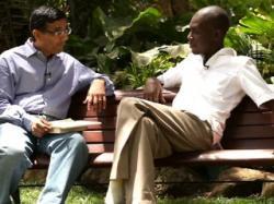 Dinesh D'Souza interviews George Obama.