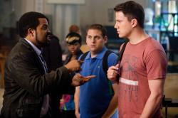 Ice Cube, Jonah Hill and Channing Tatum in 21 Jump Street.