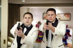 Jonah Hill and Channing Tatum in 21 Jump Street.